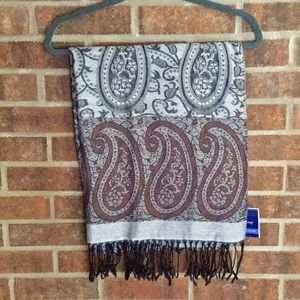 New Pashima Paisley Scarf by West Loop